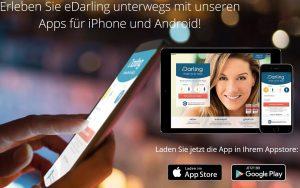 Über die kostenlose App lernen Mitglieder schnell neue Singles kennen
