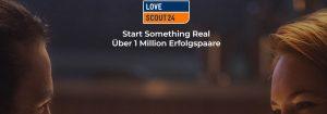 Über 1 Million glückliche Paare haben sich bereits über LoveScout24 gefunden.