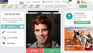 Die innovativen Features von LoveScout24 erhöhen die Erfolgschancen deutlich.