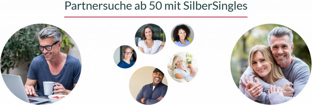 Die Online-Partnervermittlung für ältere Singles.